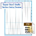Barrel, 5/8in x 1/2in x 11in Machine Cutting Template | Crafting | Paper Crafting | Other