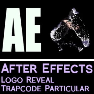after effects logo reveal animation using trapcode particular