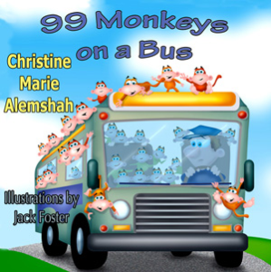 99 Monkeys on a Bus | eBooks | Children's eBooks