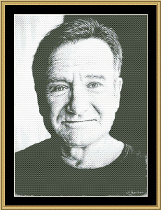 In Memory Of Robin Williams | Crafting | Cross-Stitch | Other