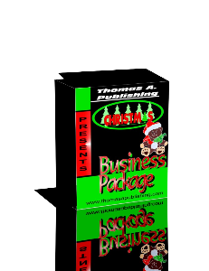 christmas business package for those who have a holiday blog