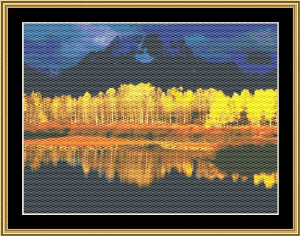Fall Reflections | Crafting | Cross-Stitch | Other