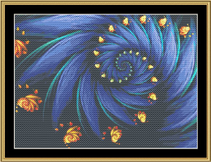 New Fractal Art 20 | Crafting | Cross-Stitch | Wall Hangings