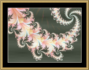 New Fractal Art 18 | Crafting | Cross-Stitch | Wall Hangings