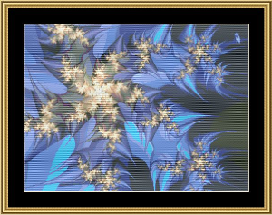 New Fractal Art 17 | Crafting | Cross-Stitch | Wall Hangings
