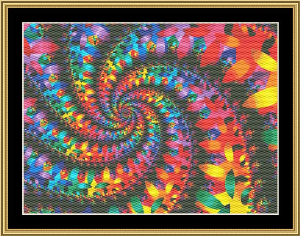 New Fractal Art 11 | Crafting | Cross-Stitch | Wall Hangings