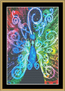 New Fractal Art 10 | Crafting | Cross-Stitch | Wall Hangings