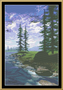 Babbling Brook | Crafting | Cross-Stitch | Other