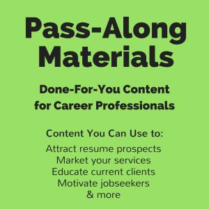 social media audit for jobseekers pass-along materials