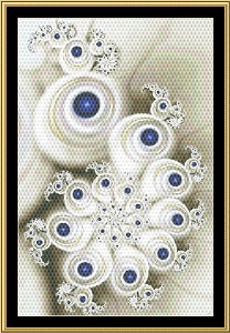New Fractal Art 31 | Crafting | Cross-Stitch | Wall Hangings