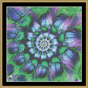 New Fractal Art 06 | Crafting | Cross-Stitch | Wall Hangings