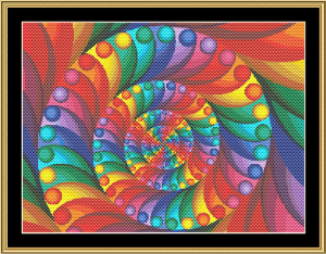 New Fractal Art 03 | Crafting | Cross-Stitch | Wall Hangings