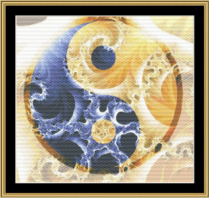 New Fractal Art 01 | Crafting | Cross-Stitch | Wall Hangings