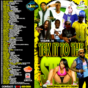 Dj Roy  Tek It To The Street Dancehall Mix Vol.16 | Music | Reggae