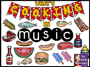 whats cooking in music - bulletin board