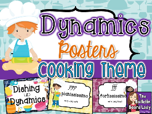 Dynamics Posters - Cooking Theme | Other Files | Everything Else