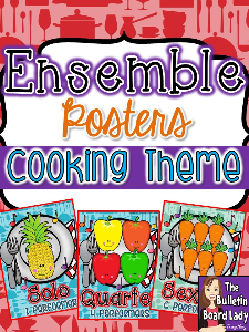 Ensemble Posters - Cooking Theme | Other Files | Everything Else