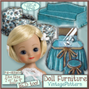 7-9 inch Doll Furniture e-Pattern VINTAGE 1940's | Crafting | Sewing | Other