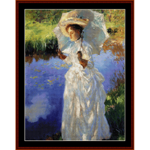 A Morning Walk - Sargent cross stitch pattern by Cross Stitch Collectibles | Crafting | Cross-Stitch | Wall Hangings