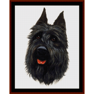 Bouvier - Robt. J. May cross stitch pattern by Cross Stitch Collectibles | Crafting | Cross-Stitch | Wall Hangings