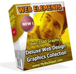 Web Elements Deluxe Web Design Graphics Gallery | Software | Design