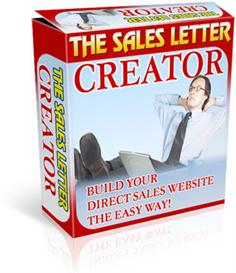 the sales letter creator