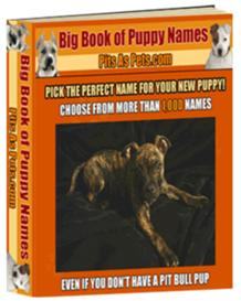Big Book of Puppy Names | eBooks | Home and Garden