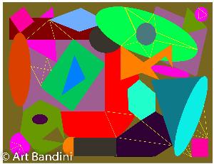 geometric graphic art