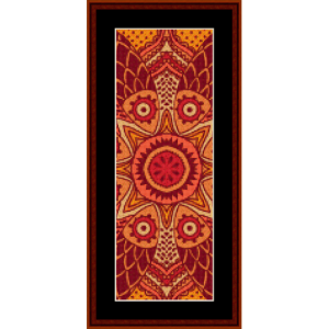 Fractal 511 Bookmark by Cross Stitch Collectibles | Crafting | Cross-Stitch | Other