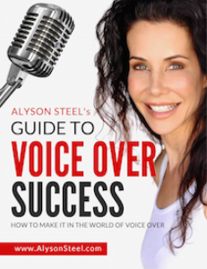 alyson steel's guide to voice over success