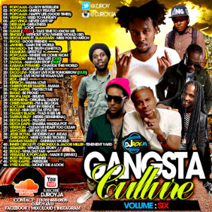 Dj Roy Gangsta Culture Mix Vol.6 | Music | Reggae