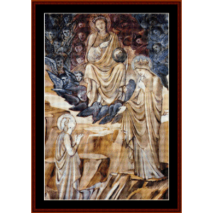 The Vision of St. Catherine - Burne-Jones cross stitch pattern by Cross Stitch Collectibles | Crafting | Cross-Stitch | Religious
