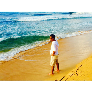 man alone in puerto rico