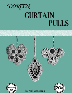 curtain pulls | volume 98 | doreen knitting books digitally restored pdf