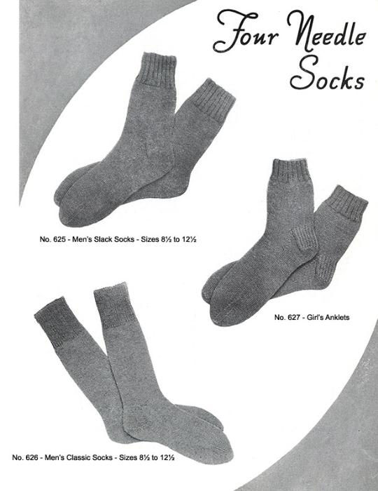 Second Additional product image for - Mittens Gloves Socks | Volume 99 | Doreen Knitting Books DIGITALLY RESTORED PDF