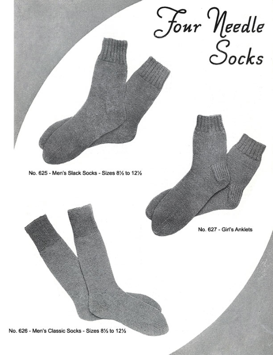 Second Additional product image for - Mittens Gloves Socks | Volume 99 | Doreen Knitting Books DIGITALLY RESTORED PDF