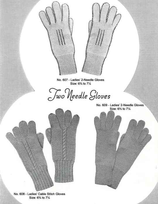 Third Additional product image for - Mittens Gloves Socks | Volume 99 | Doreen Knitting Books DIGITALLY RESTORED PDF