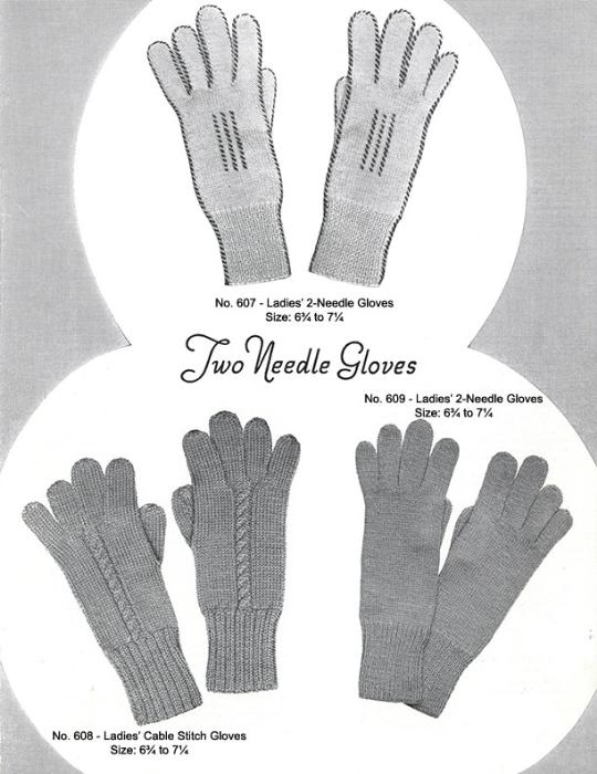 Third Additional product image for - Mittens Gloves Socks | Volume 99 | Doreen Knitting Books DIGITALLY RESTORED PDF