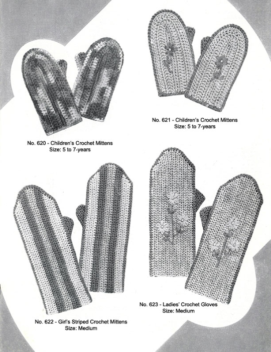 Fourth Additional product image for - Mittens Gloves Socks | Volume 99 | Doreen Knitting Books DIGITALLY RESTORED PDF