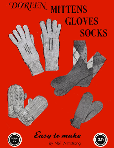 Mittens Gloves Socks | Volume 99 | Doreen Knitting Books DIGITALLY RESTORED PDF | Crafting | Knitting | Other
