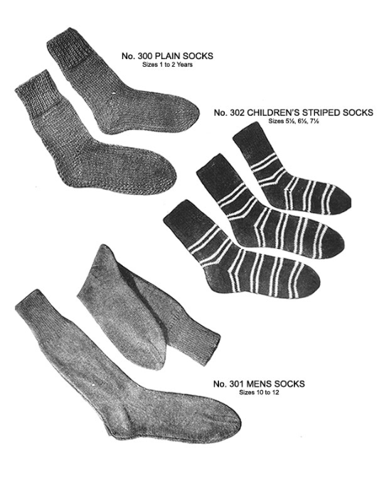 First Additional product image for - Two Needle Socks | Volume 93 | Doreen Knitting Books DIGITALLY RESTORED PDF