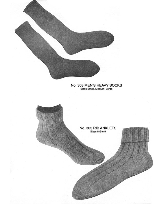Second Additional product image for - Two Needle Socks | Volume 93 | Doreen Knitting Books DIGITALLY RESTORED PDF