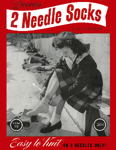 Two Needle Socks | Volume 93 | Doreen Knitting Books DIGITALLY RESTORED PDF | Crafting | Knitting | Other
