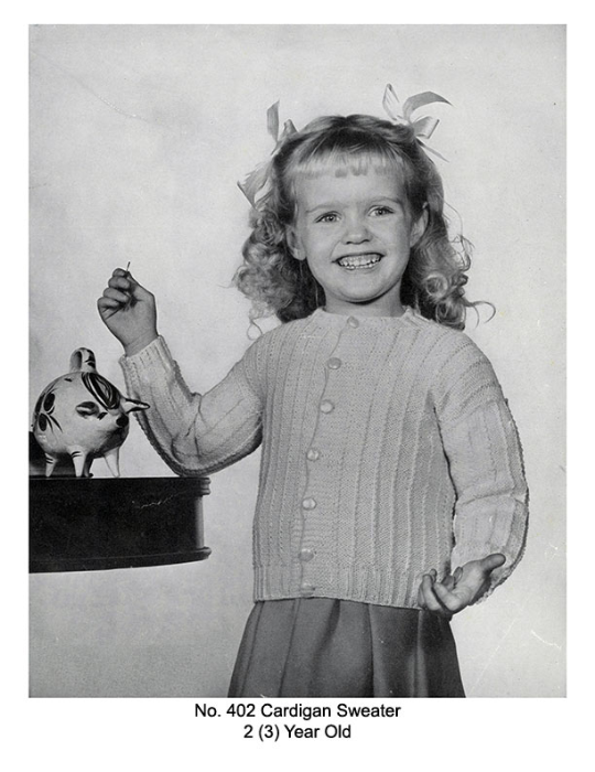 First Additional product image for - Children's Book   Volume 94   Doreen Knitting Books DIGITALLY RESTORED PDF