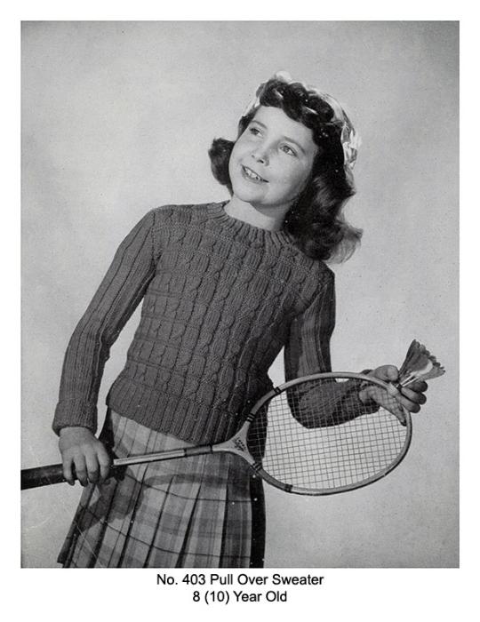 Second Additional product image for - Children's Book   Volume 94   Doreen Knitting Books DIGITALLY RESTORED PDF