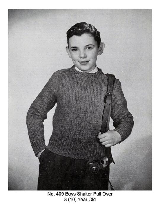Fourth Additional product image for - Children's Book   Volume 94   Doreen Knitting Books DIGITALLY RESTORED PDF