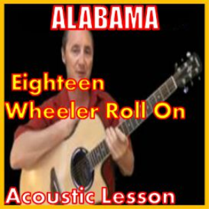Learn to play Roll On 18 Wheeler By Alabama | Movies and Videos | Educational