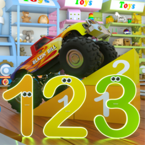 learn numbers with max the glow train
