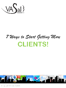 7 ways to start getting more clients!