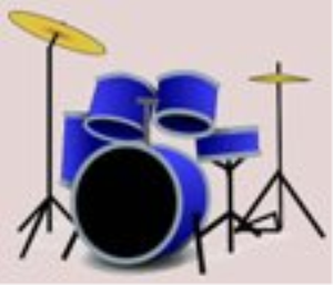 surf surf don't drown- -drum tab